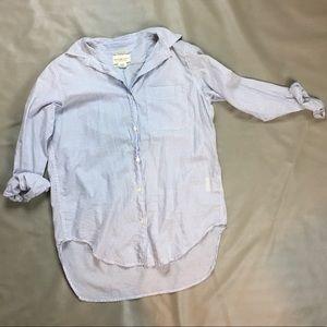 Denim & Supply Ralph Lauren Blue & White blouse
